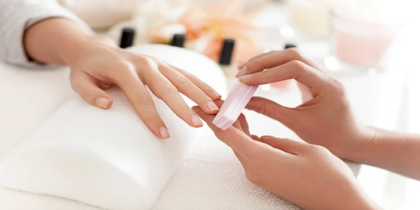 uñas, manicure, manicura